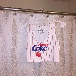 🍒Cherry Coke crop top